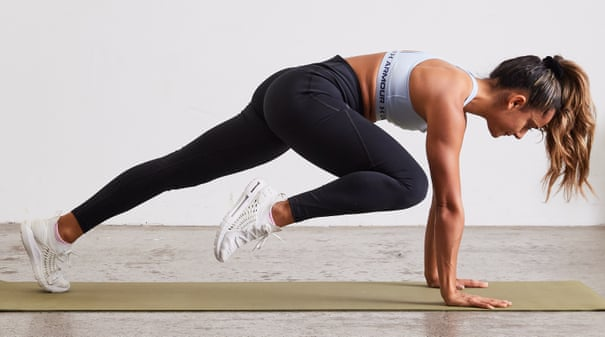 Move of the week: how to stabilise your core with the slow mountain climber